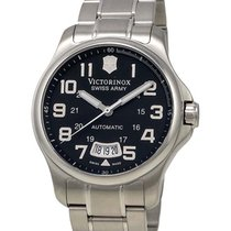 Victorinox Swiss Army VICTORINOX  – Army Officer Black Dial...