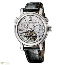 Arnold & Son GMT II Tourbillon 18K White Gold Men's Watch