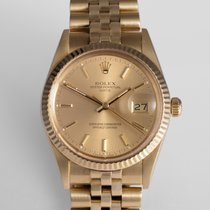 """Rolex Oyster Perpetual Date Yellow Gold """"Buick"""""""