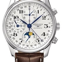 Longines Master Complications L2.673.4.78.3 Stainless Steel...