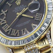 Rolex Mens Rolex President 18kt Yellow Gold Day-date Diamond...