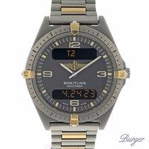 Breitling Aerospace Navitimer Titanium/Gold