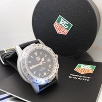 TAG Heuer GMT professional diver 200 METRES N.O.S with B&P