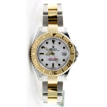 """Rolex Yachtmaster 168623 Steel and 18K Gold Mid Size """"..."""