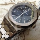 Audemars Piguet 41mm Royal Oak Black Dial Steel Auto 15400ST.O...