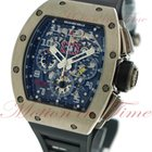 Richard Mille RM-011 Felipe Massa, Chronograph Skeleton Dial -...