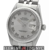 Rolex Datejust 36mm Engine Turned Bezel Slate Roman Dial 1979...
