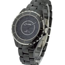 Chanel H3829 J12 Intense Black in Black Ceramic - on Black...