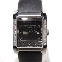 Baume & Mercier Hampton with diamonds M0A10022 Full set ...