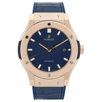 Hublot Classic Fusion King Gold Blue Automatic 42mm