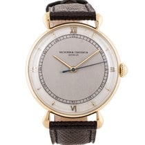 Vacheron Constantin two-tone dress watch with tear-drop lugs