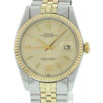 Rolex Men's Vintage Rolex Datejust 1601 18K YG / SS