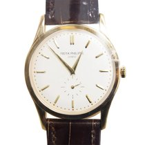 Patek Philippe New  Calatrava Gold White Manual Wind 5196J-001
