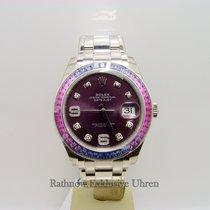 Rolex Datejust Pearlmaster 39 mm mit Diamanten/Saphiren