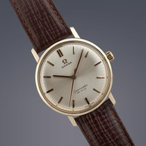 Omega Seamaster De Ville gold capped manual wind watch