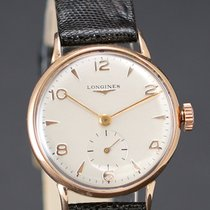 Longines Vintage 18k Rose Gold Calibre 23Z