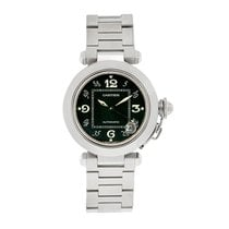 Cartier Pasha Series Mens Black Dial Swiss Automatic Watch...