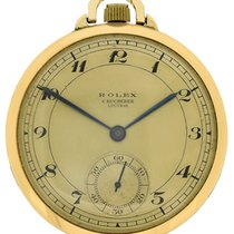 Rolex 14k yellow gold Chronometer Lucerne Pocketwatch