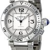 Cartier Pasha Seatimer Steel Mens Watch W31080M7