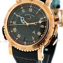 Breguet Marine Royale Alarm, Black Dial - Rose Gold on Strap