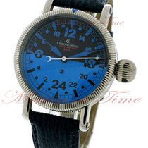 "Chronoswiss Timemaster 24H ""Blue-Ray"", Black-Blue Dial..."
