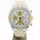 Breitling Chronomat Evoulution Steel/Gold 44mm White Dial(B&am...