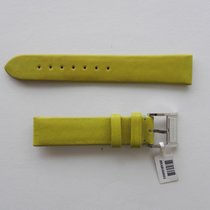 Burberry 17MM LIME GREEN LEATHER STRAP