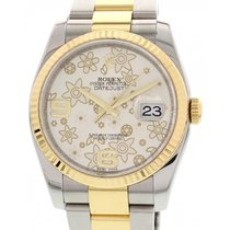 Rolex Men's Rolex Datejust 18k Yellow Gold & S/S 116233