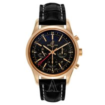 Breitling Men's Transocean Chronograph GMT Watch
