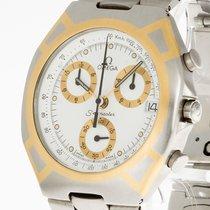 Omega Seamaster Chronograph Quarz Stahl/Gold Ref. 121750