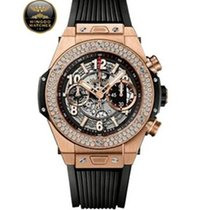 Hublot - Big Bang Unico King Gold Diamonds