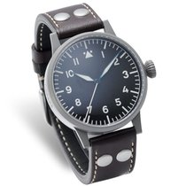 Laco Herren Armbanduhr Fliegeruhr SAARBRÜCKEN Automatik 861752