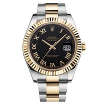 Rolex Datejust II Mens Stainless Steel & 18K Yellow Gold...