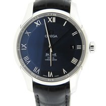 Omega De-Ville Chronometer Co-Axial Blue Dial Stainless Steel