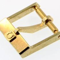 Omega Dornschliesse Buckle Swiss Plaqueg Stahl Vergoldet 12mm O26