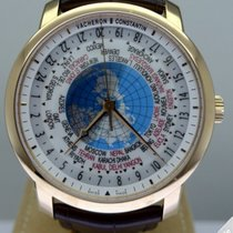 Vacheron Constantin Patrimony Traditionnelle World Time Pink...