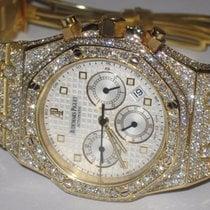 Audemars Piguet Royal Oak Chronograph 18K Gold Diamonds
