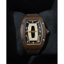 Richard Mille RM 07 Brown Ceramic Onyx Ladies Automatic [NEW]