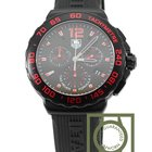 TAG Heuer Formula 1 Chronograph Black Dial Rubber Strap