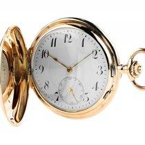 Taschenuhr Savonette 14kt Gelbgold Handaufzug 55mm Vintage...