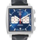 TAG Heuer Monaco Automatic Chronograph Mens Watch Cw2113 Box...