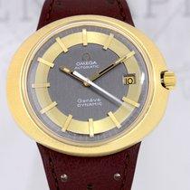 Omega Dynamic Genève Automatic Stahl Gold Vintage Klassiker rar