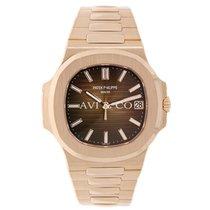 Patek Philippe Nautilus 40mm Men's Rose Gold Watch
