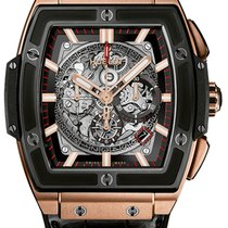 Hublot [NEW] Spirit of Big Bang King Gold Ceramic 601.OM.0183.LR