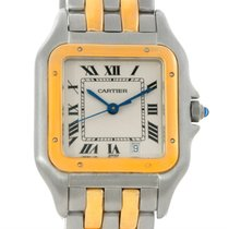 Cartier Panthere Large Steel 18k Yellow Gold Watch W25028b6