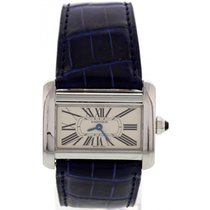 Cartier Ladies Cartier Tank Divan Stainless Steel Watch 2599