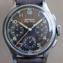 Benrus Vintage Tropical Sky Chief Chronograph