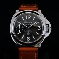 Panerai Pan  Luminor Base Logo  44MM Steel Rare  Super Mint...