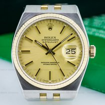 Rolex 17013 Oyster Quartz Champagne Dial SS/18K Yellow Gold...