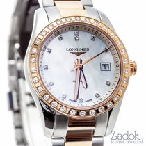 Longines Conquest Classic 18k Rose & Steel MOP Dial...